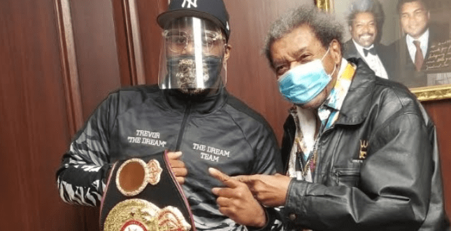 Don King with Trevor Bryan